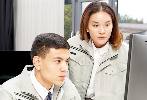 NARA日米の日本語研修-業種別共通カリキュラムイメージ画像