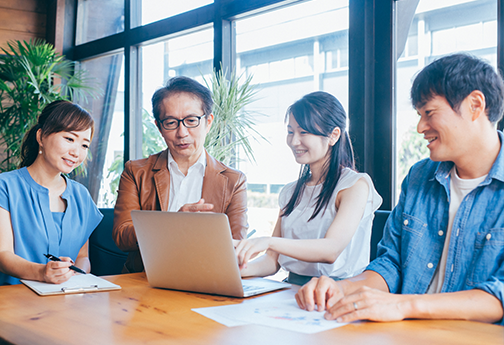 NARA日米の日本語研修-事業所毎にオーダーメイドカリキュラムイメージ画像